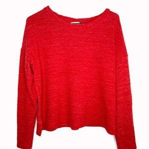 🍁 H&M Red Sweater Long Sleeve